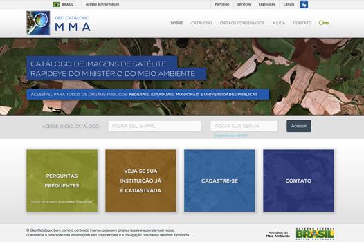 Geo Catálogo de Imagens do Ministério do Meio Ambiente
