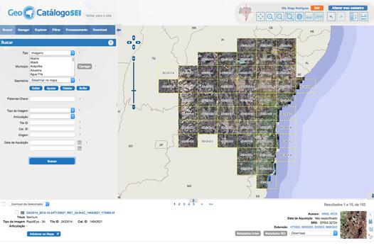 Geo Catálogo SEI